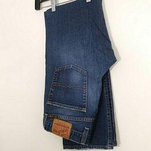 Vintage Lucky Dungarees Straight Leg